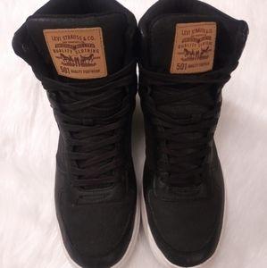 Men's Levi Jeffery Hi 501 Denim Shoe Size 11
